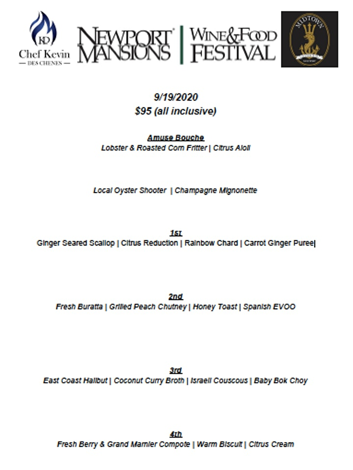 NMWFF  Wine Dinner with Chef Kevin Des Chenes and Craggy Range Vineyards image