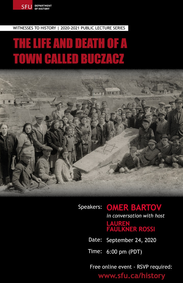 Witnesses to History: The Life and Death of a Town Called Buczacz image