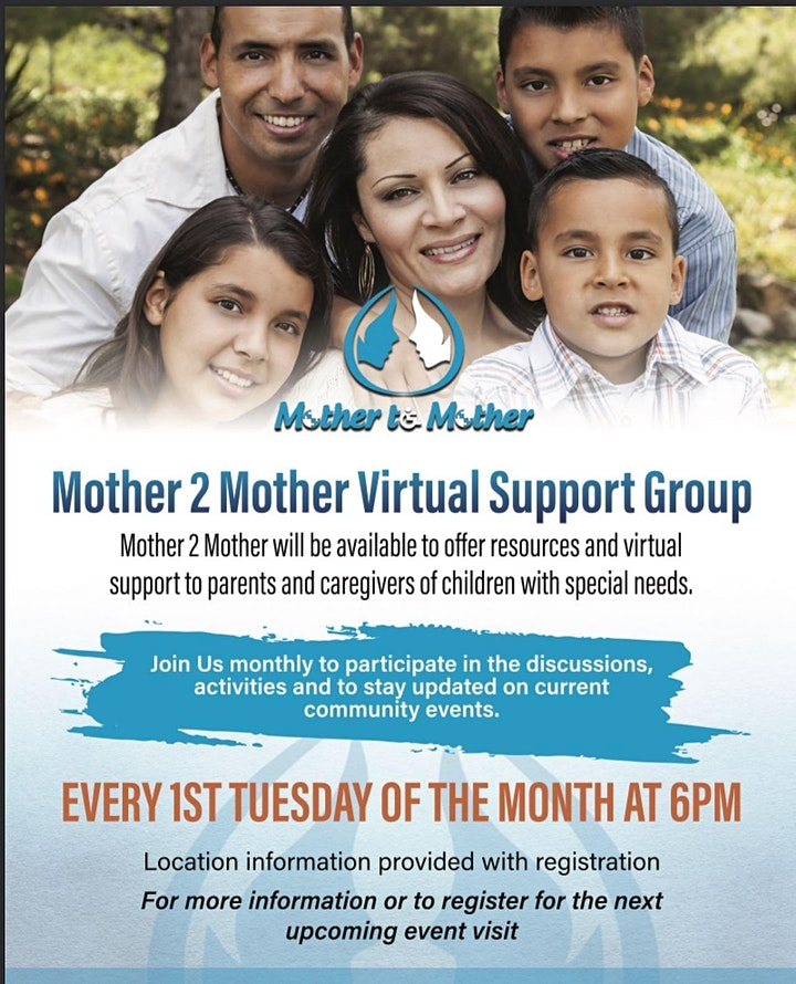 Mother 2 Mother Support  Group Meeting image