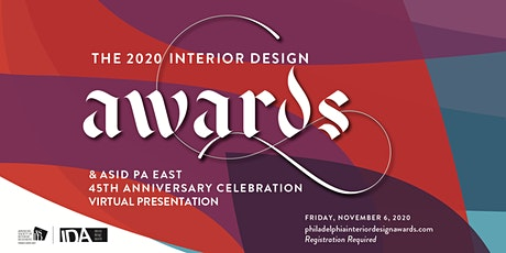2020 Interior Design Awards & ASID PA East 45th Anniversary Celebration tickets