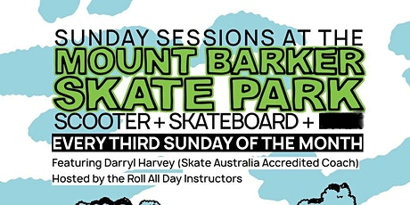 Sunday Sessions @ Mt Barker skatepark tickets
