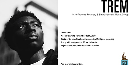 T.R.E.M.: Male, Adult, Black/African-American Support Group tickets