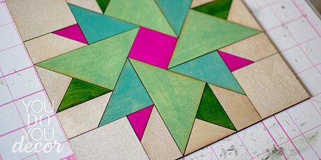 Sip and Assemble: Wood Barn Quilt tickets