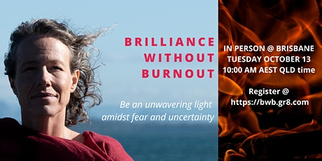 The Art of Brilliance without Burnout Half Day event with Rebecca Thompson tickets