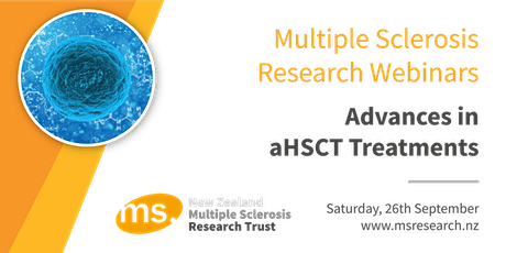 Multiple Sclerosis Research Webinar - Advances in aHSCT Treatment tickets