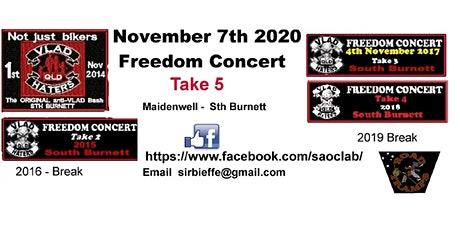 Freedom Concert Take 5 tickets