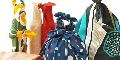 Japanese Furoshiki ever-lasting gift wrapping tickets