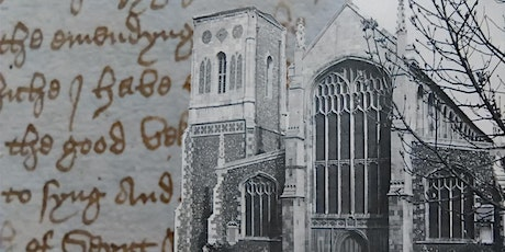 Online History Talk - Richard Caister: The 'Good Vicar' of Norwich tickets