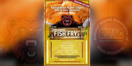 "Raleigh Wake Alumni Chapter of NAA of Shaw University ""Fish Fry"" tickets"