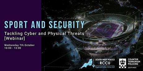 Sport and Security - Tackling Cyber and Physical Threats tickets