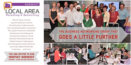 Local Area Marketing & Networking - Norwest tickets