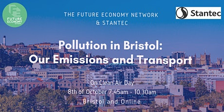 Pollution in Bristol: Our Emissions and Transport tickets