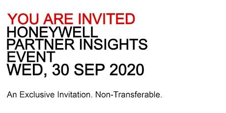 [MY] Honeywell Partner Insights Event tickets