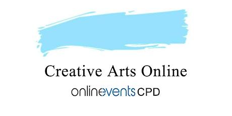 Using Creative Arts Online Experiential Workshop  - Ani de la Prida tickets