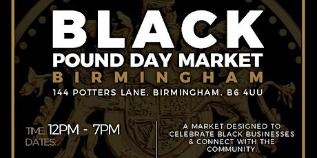 Black Pound Day Market October tickets