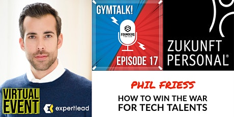 Gymtalk #17 - How to Win the War for Tech Talents tickets
