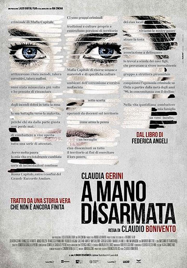 """Immagine Omaggio a Milena Mancini: proiezione film """"A mano disarmata"""""""