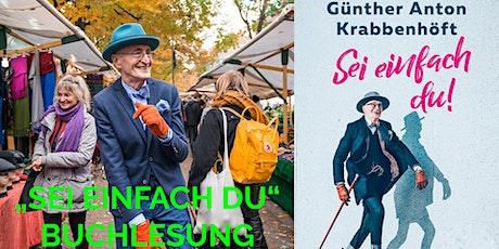 """Buchlesung mit Günther Krabbenhöft  """"Sei einfach du"""" tickets"""