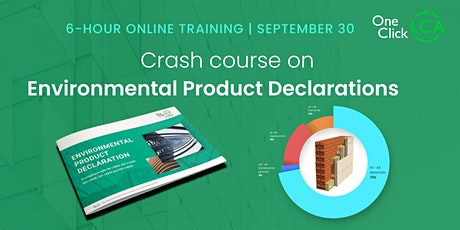Crash course on Environmental Product Declarations (EPDs) tickets