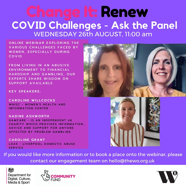 Change it: COVID Challenges - Ask the Panel image