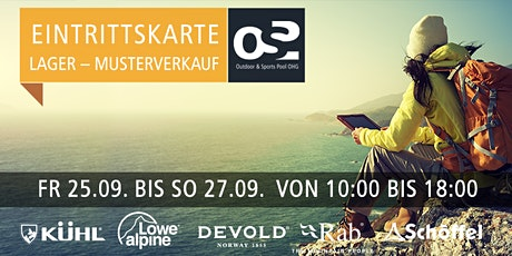 OSP Lager und Musterverkauf  25.-27. SEPTEMBER 2020 Tickets