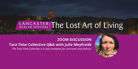 Tara Time Collective Q&A with Julie Meyfroidt tickets
