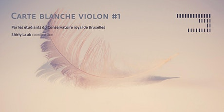 Carte blanche Violon #1 tickets