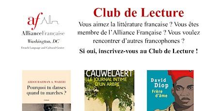 ONLINE Club de Lecture - Discussion tickets