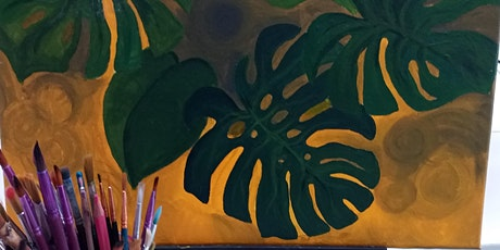 Tropical Botanical Painting Workshop - no drawing skills needed tickets