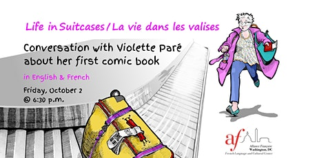 Life in Suitcases: Conversation with Violette Paré about her comic book billets