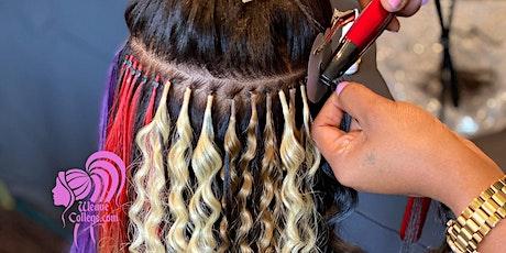 Raleigh NC | Hair Extension Install Class tickets