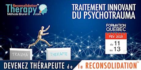 Thérapie de la Reconsolidation™  Formation Québec : fondements & pratique billets