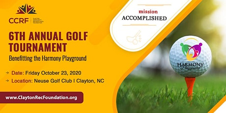 6th Annual Golf Tournament	Benefitting the Harmony Playground tickets