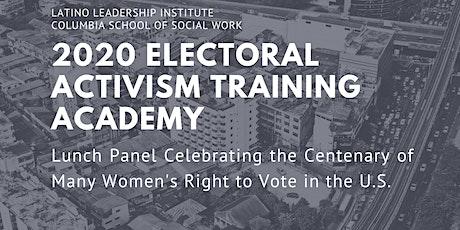 2020 Electoral Activism Training Academy tickets