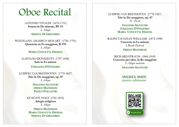 Immagine Oboe Recital