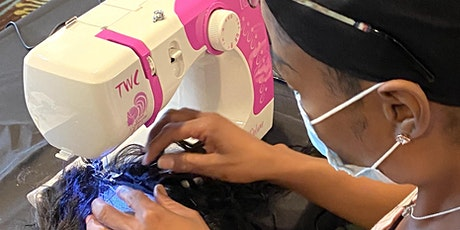 Boston MA | Enclosed Wig or U-Part Wig Making Class Sewing Machine tickets