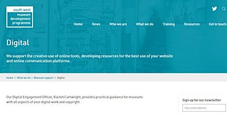 Museum Skills Essentials Online: Digital communications: optimising content tickets