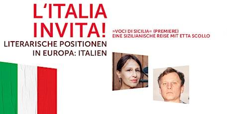 L'Italia invita! – Italien lädt ein! Tickets