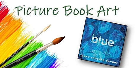 Picture Book Art: Blue tickets
