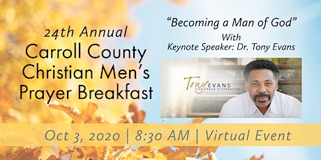 24th Annual Carroll County Christian Men's Prayer Breakfast tickets