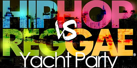 New York HipHop vs Reggae® Dockside Yacht Party Skyport Marina Jewel Yacht tickets
