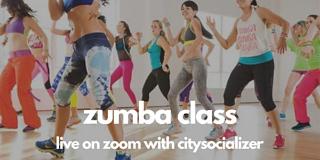 Zumba Class Live by Citysocializer tickets
