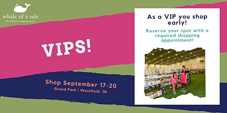 VIP -  Fall 2020 Whale of a Sale, Sept. 17-20 tickets