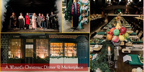 2020 Christmas Marketplace, December 8 A Wizard's Christmas: (SATURDAY DECEMBER 26, 2020 5:30PM 8:30PM