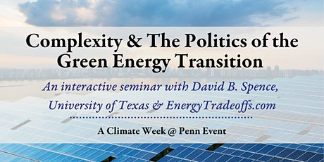 Complexity & The Politics of the Green Energy Transition tickets