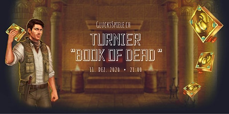 "Turnier ""Book of Dead "" Tickets"