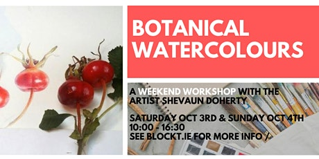 Botanical Watercolours - Autumn Colours // A Weekend Workshop tickets