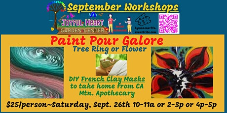 Paint Pour Galore & French Clay Mask tickets