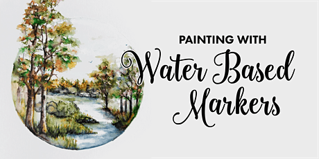 Painting With Water Based Markers tickets