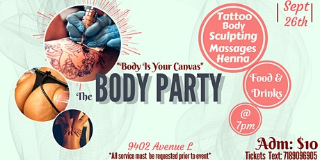 The Body Party tickets